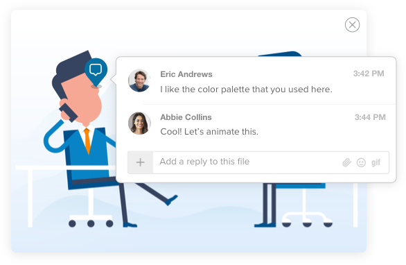 Share and collaborate on files