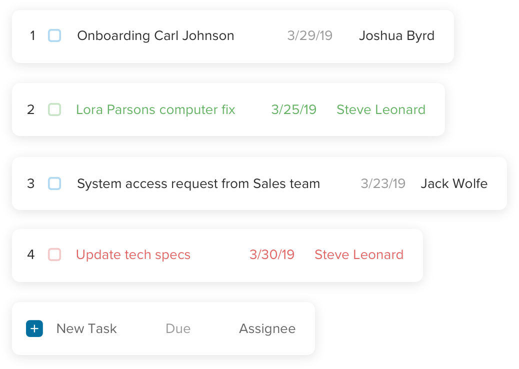 Help your tech team manage tasks