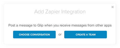 Add Zapier Integration